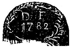 Ziselierte Initialen von Dominikus Fendt