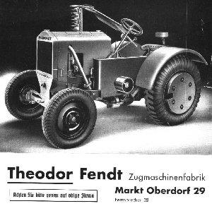 Fendt Mammut Traktor
